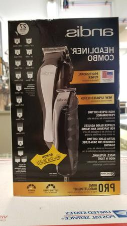 Andis Headliner Combo 27-Piece Pro Home Haircutting Clippers