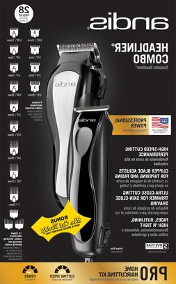 Andis Headliner Combo Professional Kit Clippers Mens Trimmer