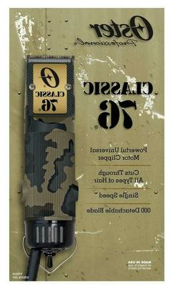 Oster Heritage Classic 76 Limited Edition Hair Clipper