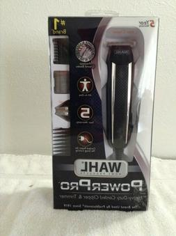 Wahl Home Products Clipper/Trimmer, Heavy-Duty Corded, Power