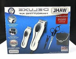 WAHL HOME PRODUCTS DELUXE HAIRCUTTING KIT #1 CLIPPER BRAND S