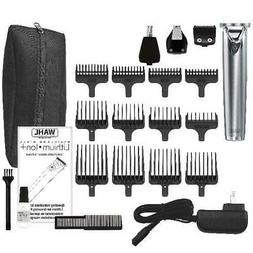 HOT Wahl Stainless Steel Lithium Ion Hair Clippers Beard Mus