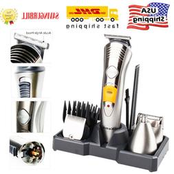Kemei 7 in1 Rechargeable Mens Electric Trimmer Hair Clipper