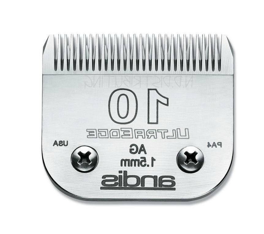 """Andis #10 UltraEdge Clipper Replacement Blade 1/16"""" 1.5 mm"""