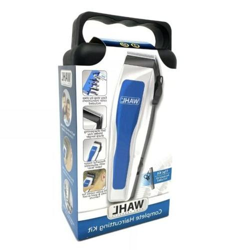 WAHL Piece Complete Haircutting Kit Clippers haircut