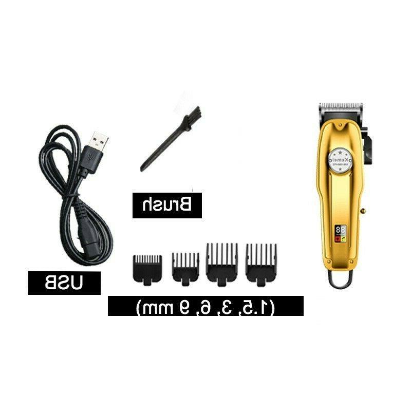 Kemei 1986+PG All-metal Professional Trimmer, Gold Color