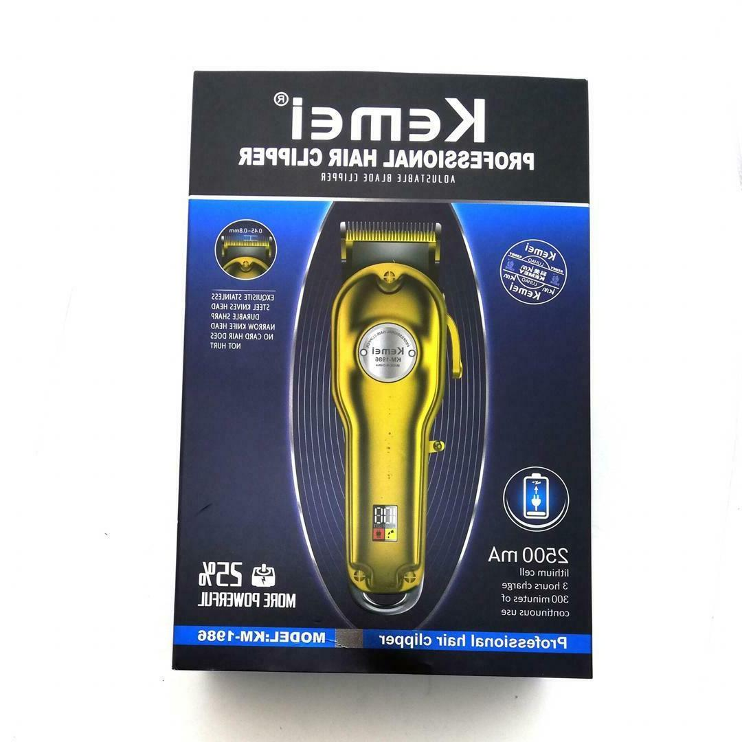 Kemei 1986+PG All-metal Professional Trimmer,