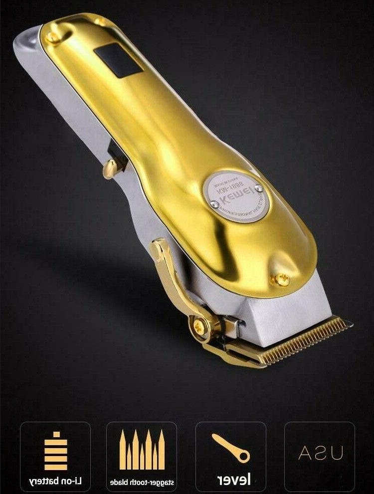 Kemei Professional Cordless Hair Clipper / Trimmer, Color