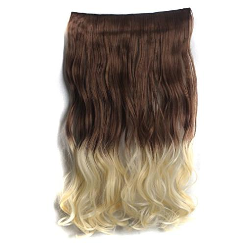 Sexy_Forever Full Curly in on Synthetic Hair Extensions Hair for 5