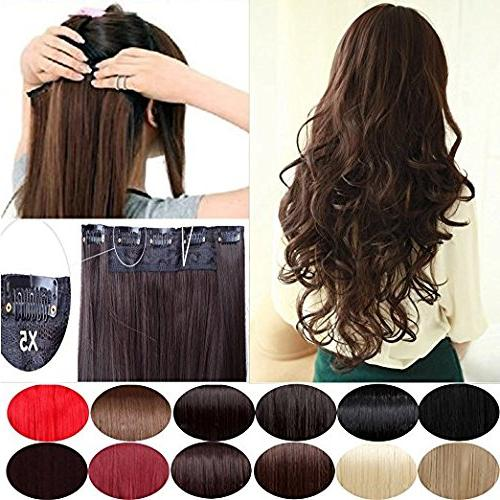 Sexy_Forever Full on Synthetic Extensions Hair for Women 5