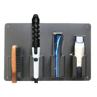 5X(Wall-Mounted Hair Clipper Storage Holder S