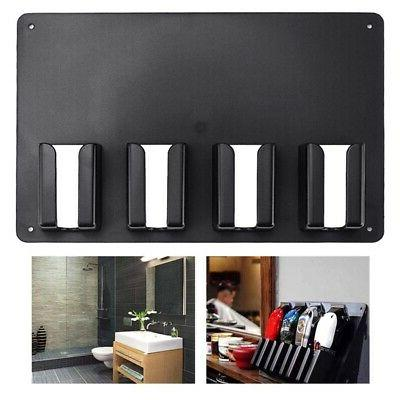 5X(Wall-Mounted Barber Storage Accessories Holder S
