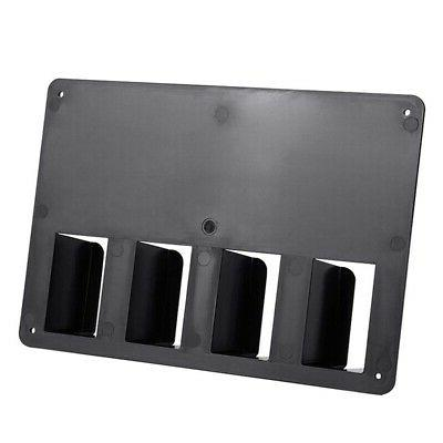 5X(Wall-Mounted Barber Hair Clipper Storage Holder