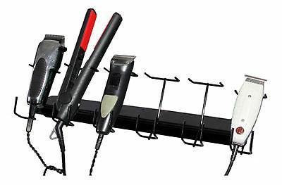 6 slot barber buddy clipper rack trimmers