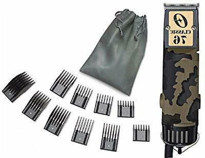76 camouflage professional hair clipper limited edition