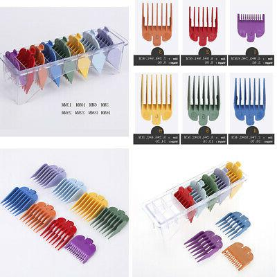 8 Pcs Clipper Guide Comb Accessories Color