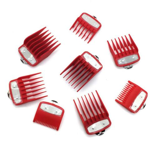 8Pcs Universal Limit Guards Attachment Size Barber Replacement
