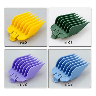 8pcs/Set Universal Hair Limit Combs Guide Size Replacement