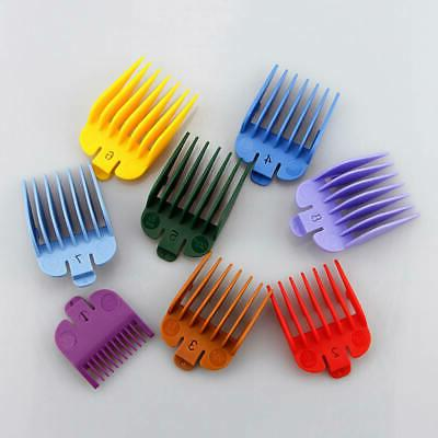 8pcs set universal hair clippers limit combs