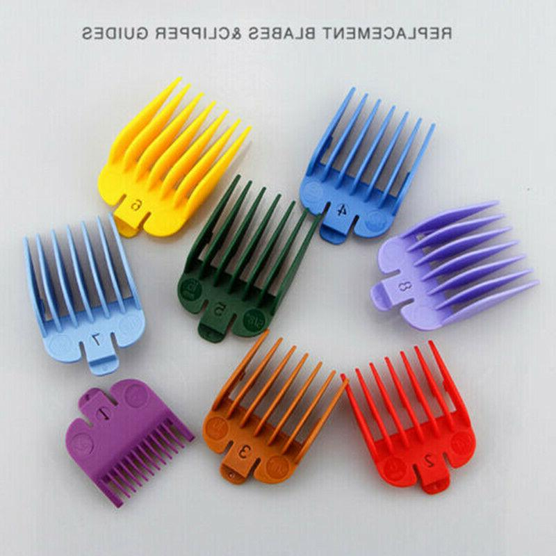8x Hair Clipper Limit Combs Hairstyling Accessory Attachment