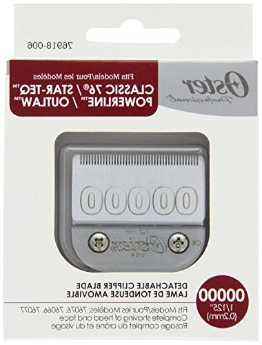 Oster Agion Size 00000 Blade