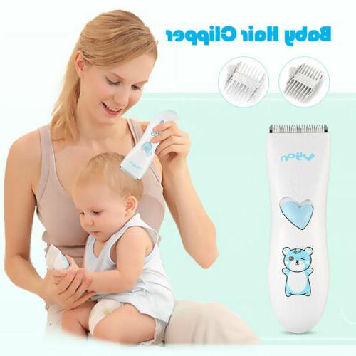 Baby Hair Trimmer Low Noise Kids Hair Clippers Waterproof Ch