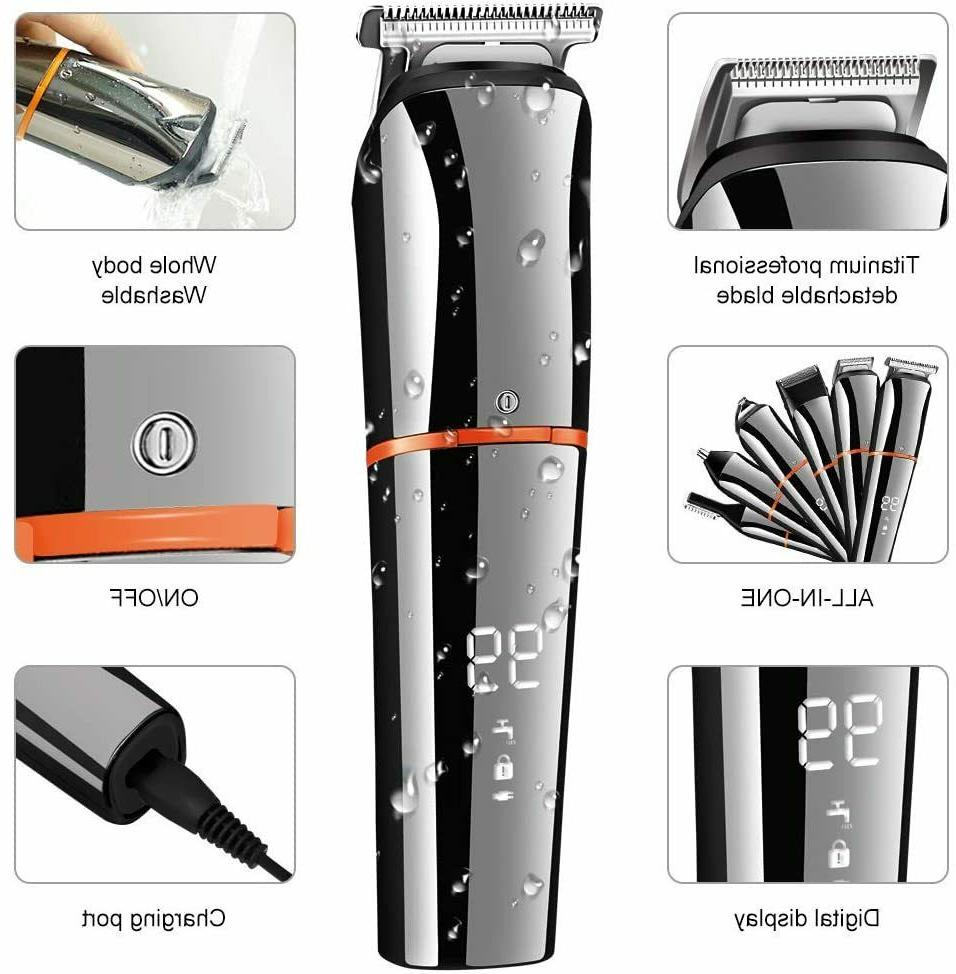 SURKER Trimmer for Men Clippers Body Mustache