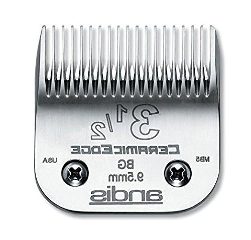 Andis CeramicEdge Clipper Blade, Includes A BeauWis Brush