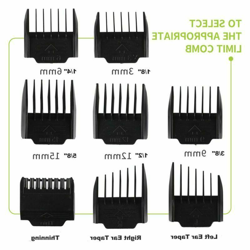 Cordless Hair Pro Hair Beard 8 Combs