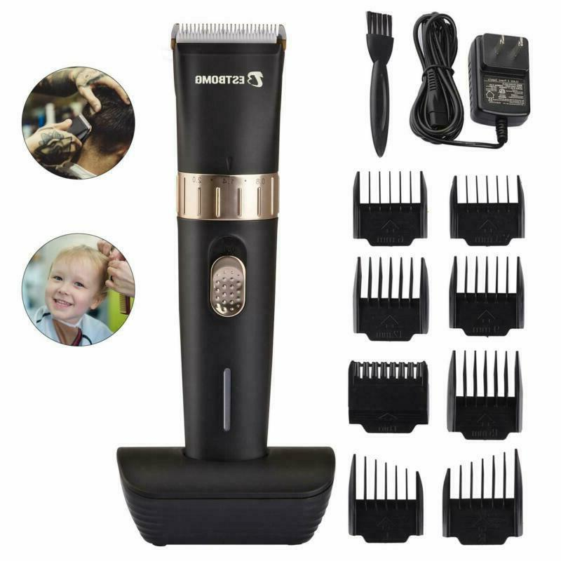 Cordless Hair Clippers Beard Trimmer 8 USB