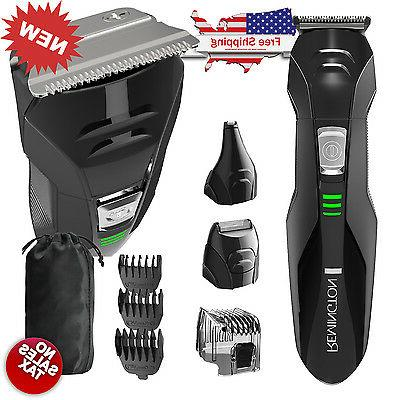 Remington Cordless Hair Clippers Professional Trimmer Set El