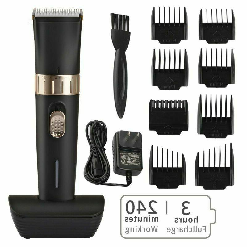 cordless hair trimmer pro hair clippers beard
