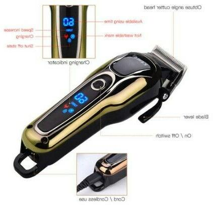 Cordless Men's Hair Clipper Piece Shipped From