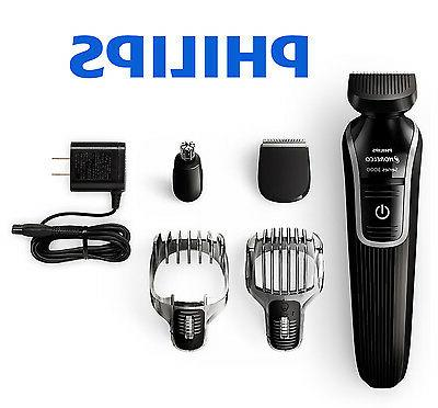 cordless trimmer clipper multigroom electric shaver hair