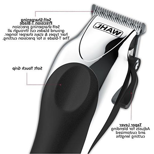 Wahl Deluxe Complete Hair Clipping Includes Guide Combs, Cordless Styling for A Cut Time, 79524-5201