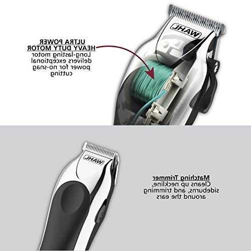 Wahl Deluxe Complete Clipping and Trimming Kit, Includes Guide Combs, Trimmer, Styling A Cut Every Time,