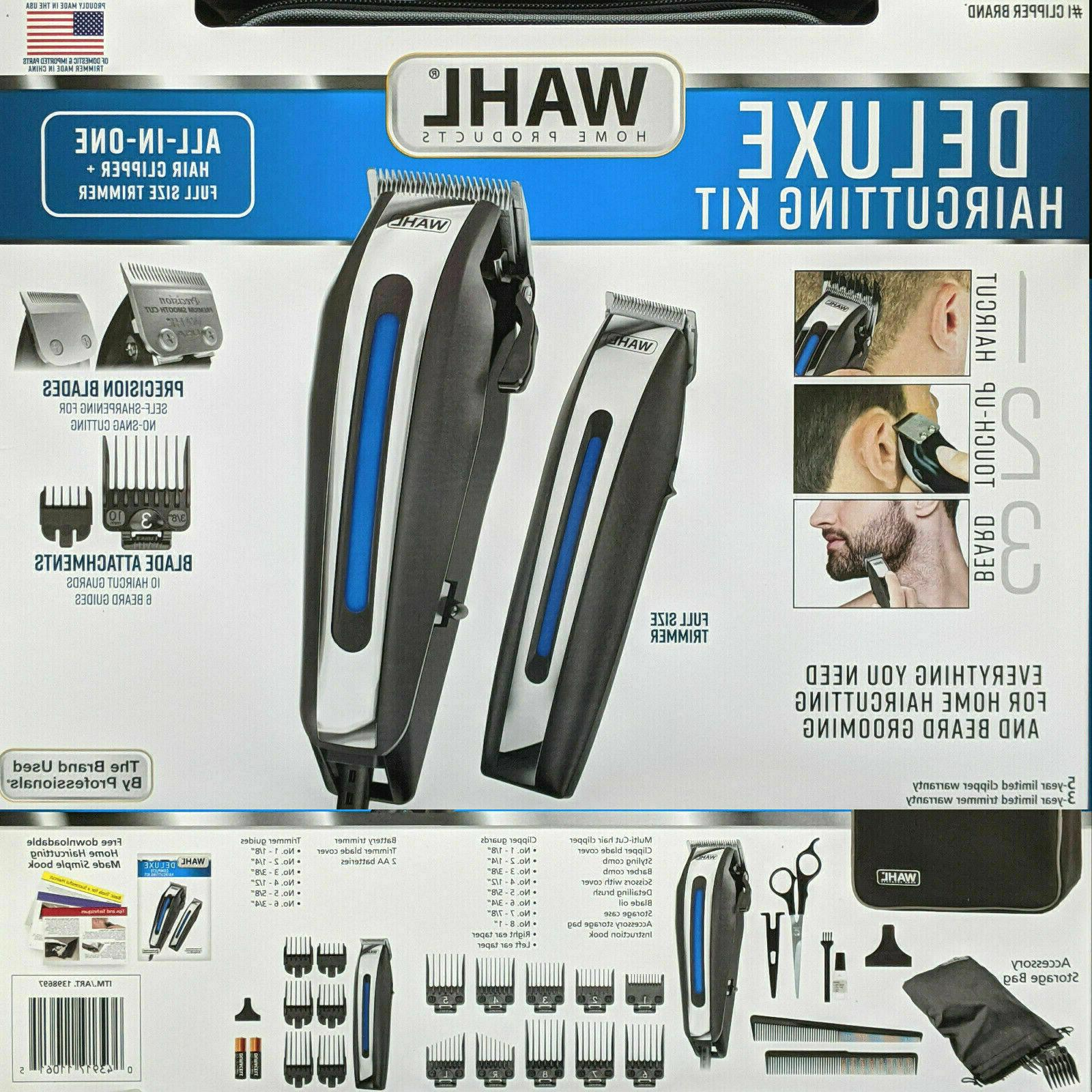 deluxe complete hair cutting kit 29 piece