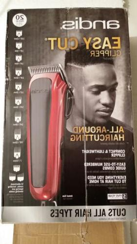 Andis Easy ,cuts all hair 12 attachments RACA