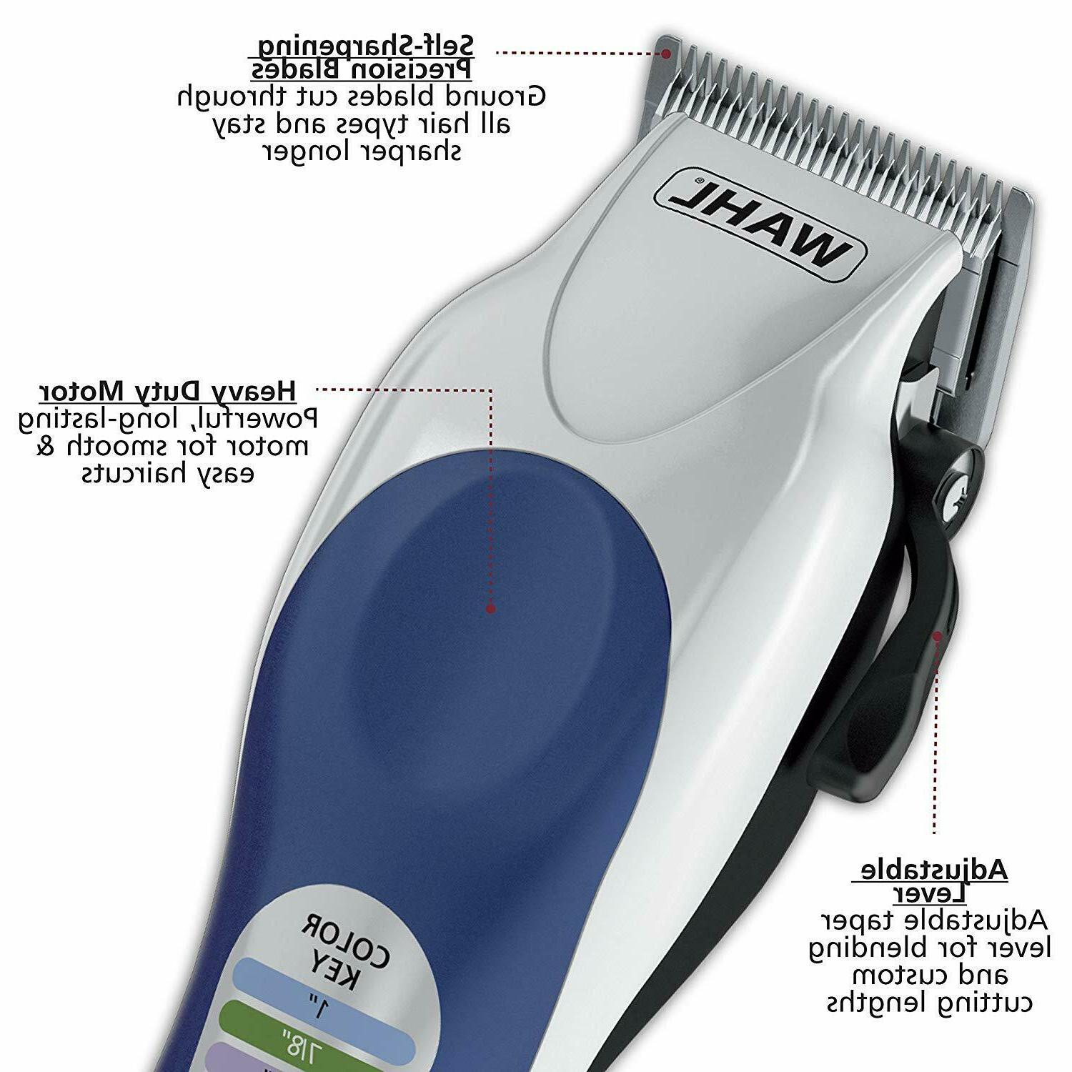Barber Haircut Color Trimmer WAHL CLIPPER Men Professional Cutting