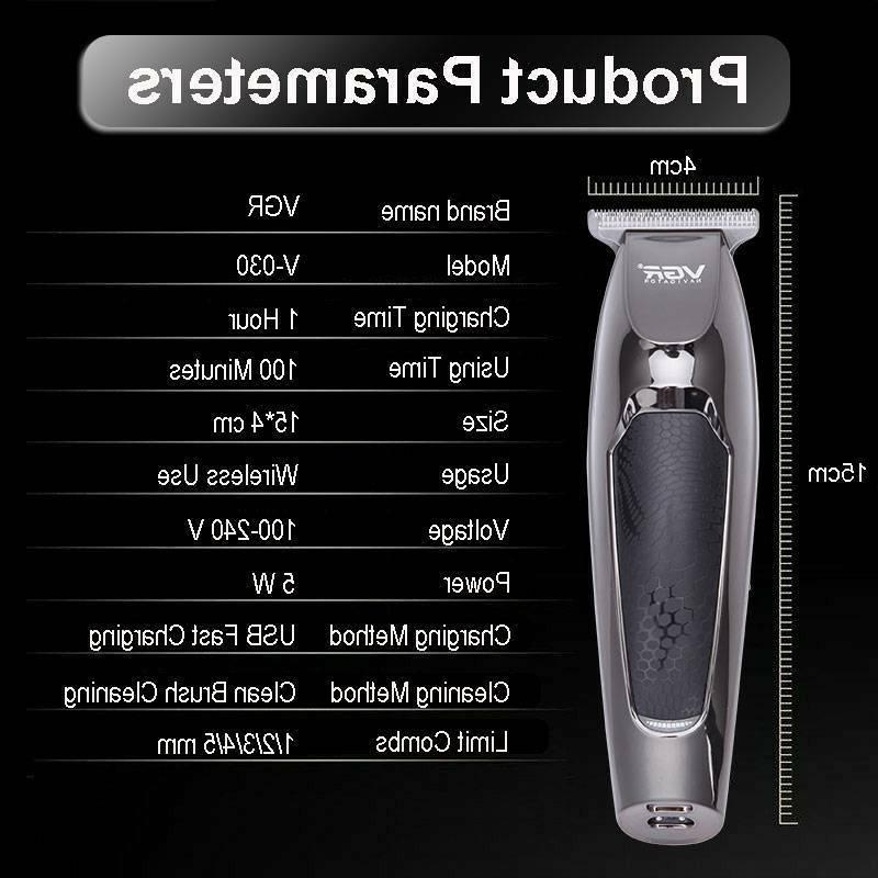 VGR PRO TRIMMER 0 HEAD HAIR CLIPPERS FAST DELIVERY