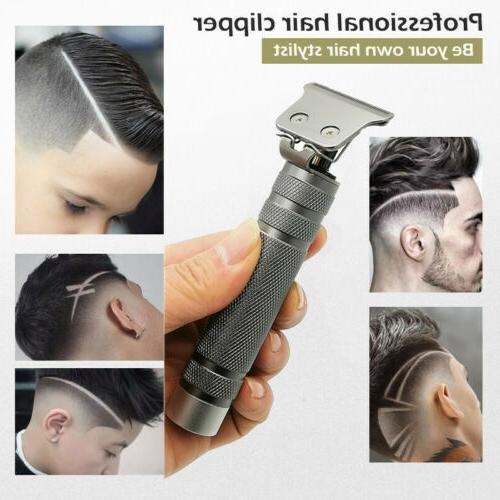 KEMEI Portable Electric T-outliner Cordless Trimmer Wireless Hair Clippers