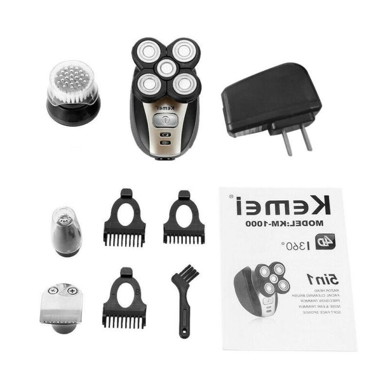 Electric Professional Clippers Tool Salon Barber Set US Seller