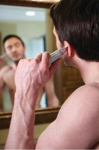 Andis and Nose Trimmer, Silver, Model NT-1