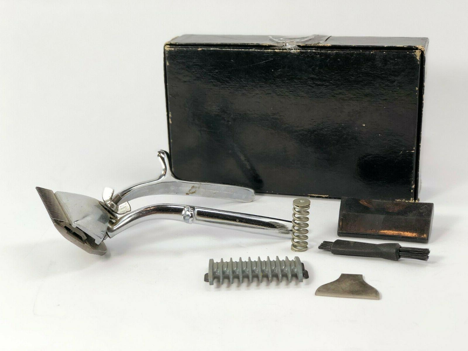 Haarschneidemaschine Hair Clippers in Box with Solingen, Germany.