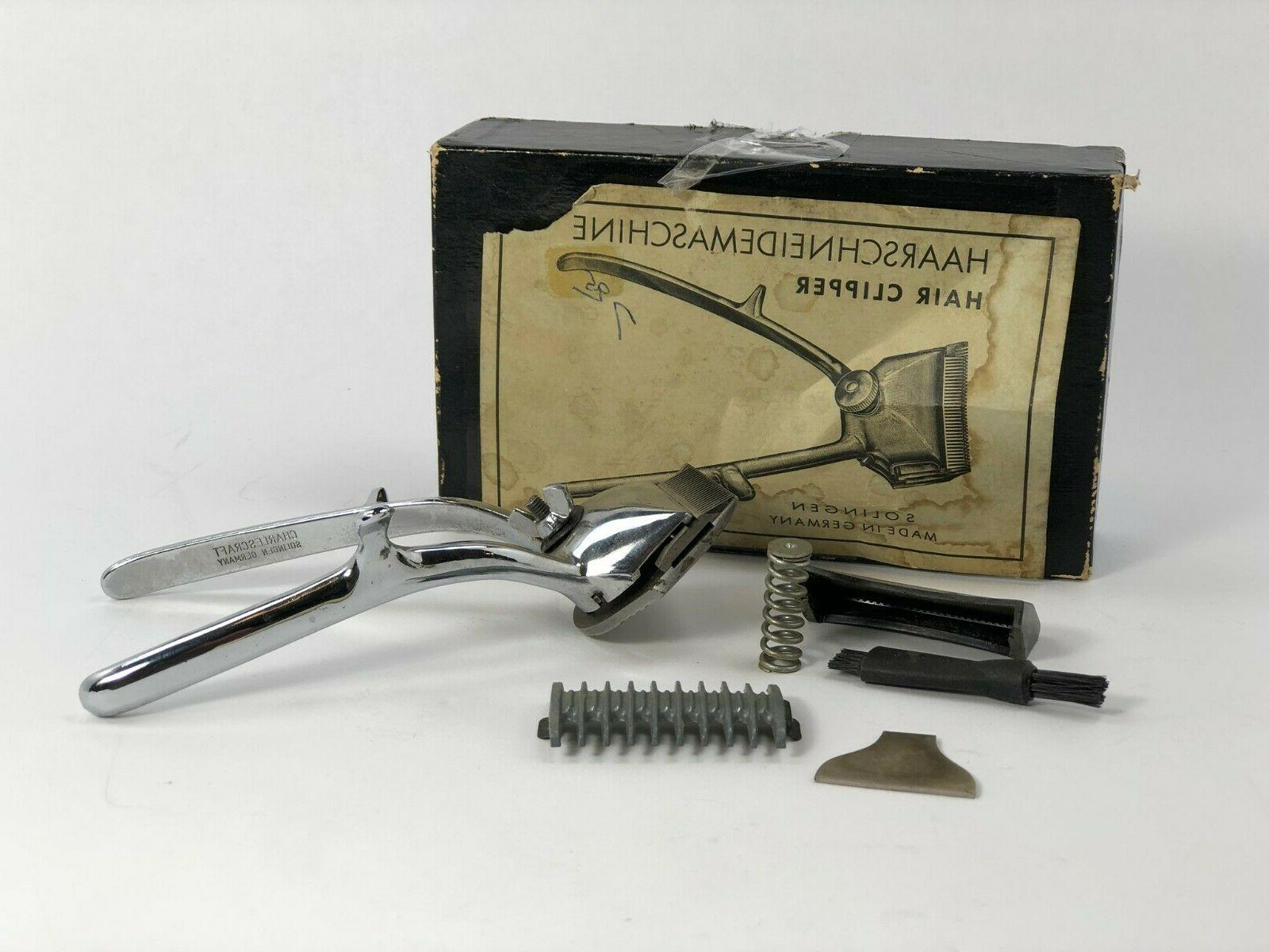 haarschneidemaschine hair clippers in box with accessories