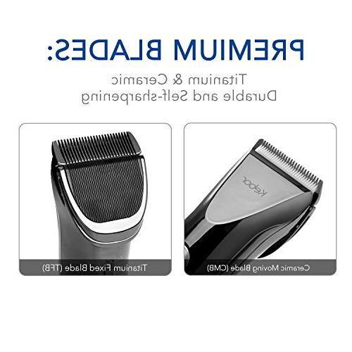 Hair Electric Wireless Lithium-ion Battery Display, Charging Haircut