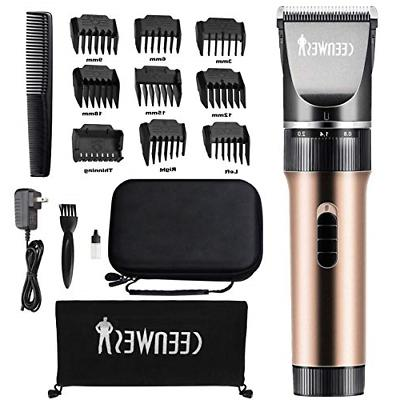 hair clippers cordless quiet trimmers rechargeable body