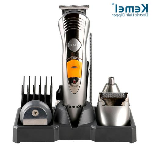 KEMEI Hair Cut Clipper Beard Mustache Shaving Machine Trimme