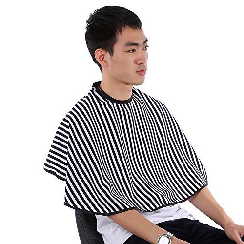 Hair Barber Soft Hairdressing Gown Apron Stripes
