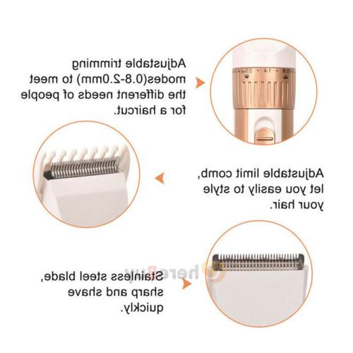 Professional Hair Barber Salon Clippers Trimmer Kit